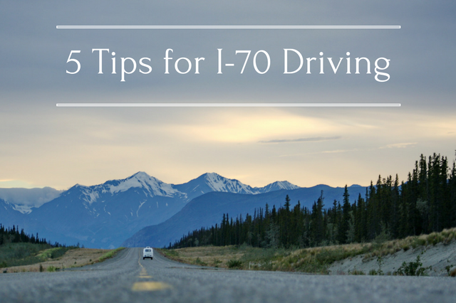 5 Tips for I-70 Mountain Driving