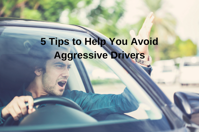 How To Avoid Agressive Drivers