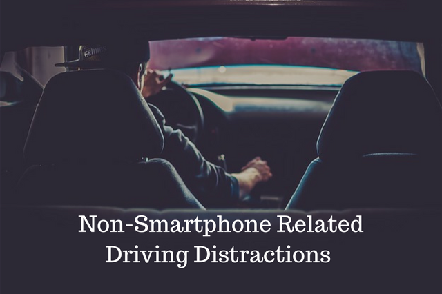 Driving Distractions that Don't Involve Your Smartphone