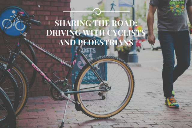 Driving With Cyclists and Pedetrians Colorado Traffic Laws