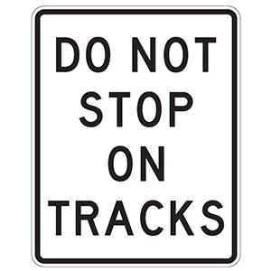 Do Not Stop On Tracks