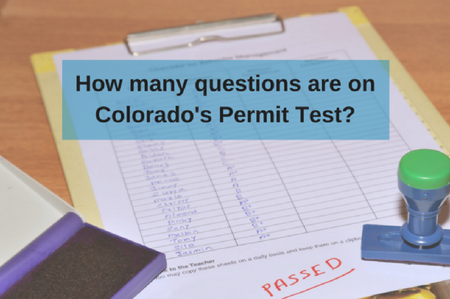 How many questions are on the permit test?